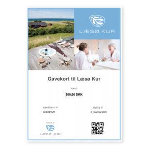 gavekort til Læsø Kur