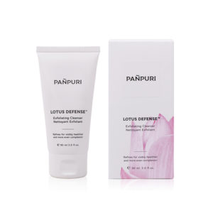 panpuri lotus defense exfoliating cleanser